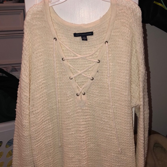 American Eagle Outfitters Sweaters - Crisscross sweater